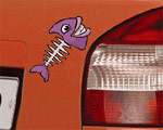 Dekal - Fishbone - Car Tattoo