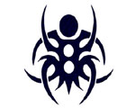 Tribal Spider - CarTattoo Magic Ink