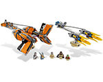 LEGO Star Wars Anakin Skywalker and Sebulba's Podracers 7962
