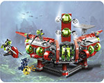 LEGO Atlantis 8077 Expeditionsbas