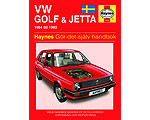 VW Golf & Jetta II (84-92) - Reparationshandbok