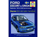 Ford Escort och Orion (90-00) - Reparationshandbok
