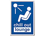 Mer info om Metall-Vykort Chill Out Lounge
