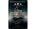 Mer info om 3D Metallskylt Harley-Davidson Things Are Different 20x30