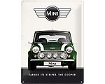3D Metallskylt Mini - Cooper Green 30x40