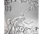 3D Metallskylt Good Year Motorcycle 30x40