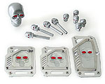 Skull Styling Set - Silver