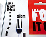 Fork it Over - Utdragbar Gaffel