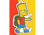 Simpsons - Bart Walking