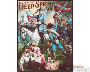Deep Spring Whiskey - Retro Skylt