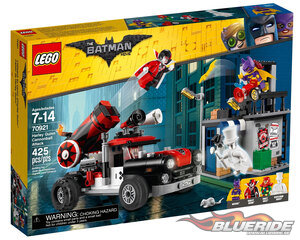 LEGO Batman Movie 70921, Harley Quinn Kanonattack
