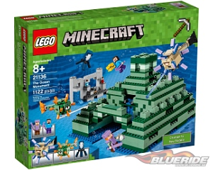 LEGO Minecraft 21136, The Ocean Monument