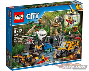 LEGO City 60161, Jungle Exploration Site