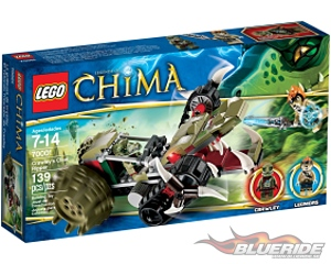 LEGO Legends of Chima 70001, Crawley's Claw Ripper