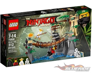 LEGO The LEGO Ninjago Movie 70608, Master Falls
