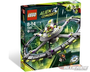 LEGO Space 7065, Alien Mothership